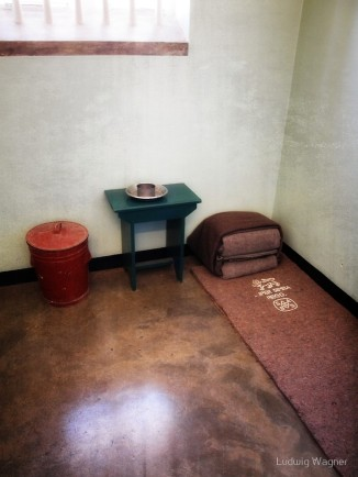 How Mandela's cell would have looked