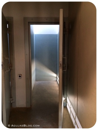 Solitary confinement replica at The Apartheid Museum